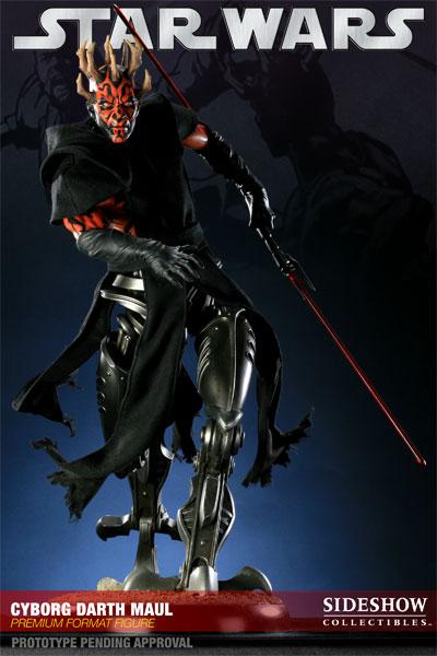 Figurine Darth Maul cyborg