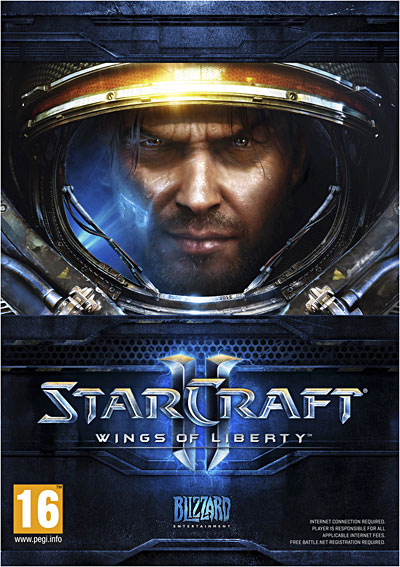 Couverture officielle de Star Craft 2