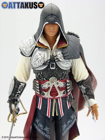 Figurine d'assassin's Creed d'Attakus