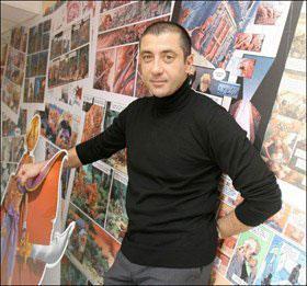 Mourad Boudjellal le fondateur de Soleil Productions
