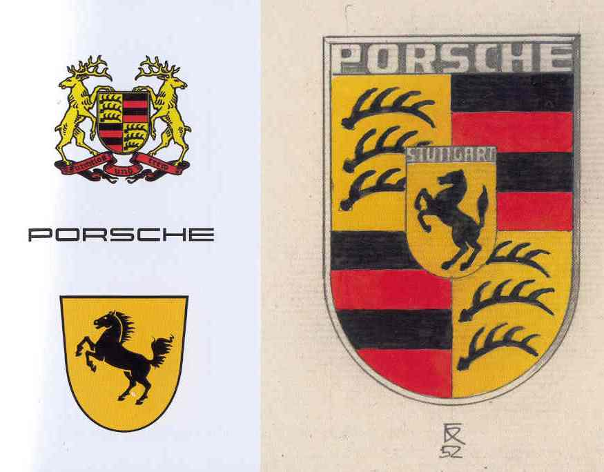 anciens logos Porsche