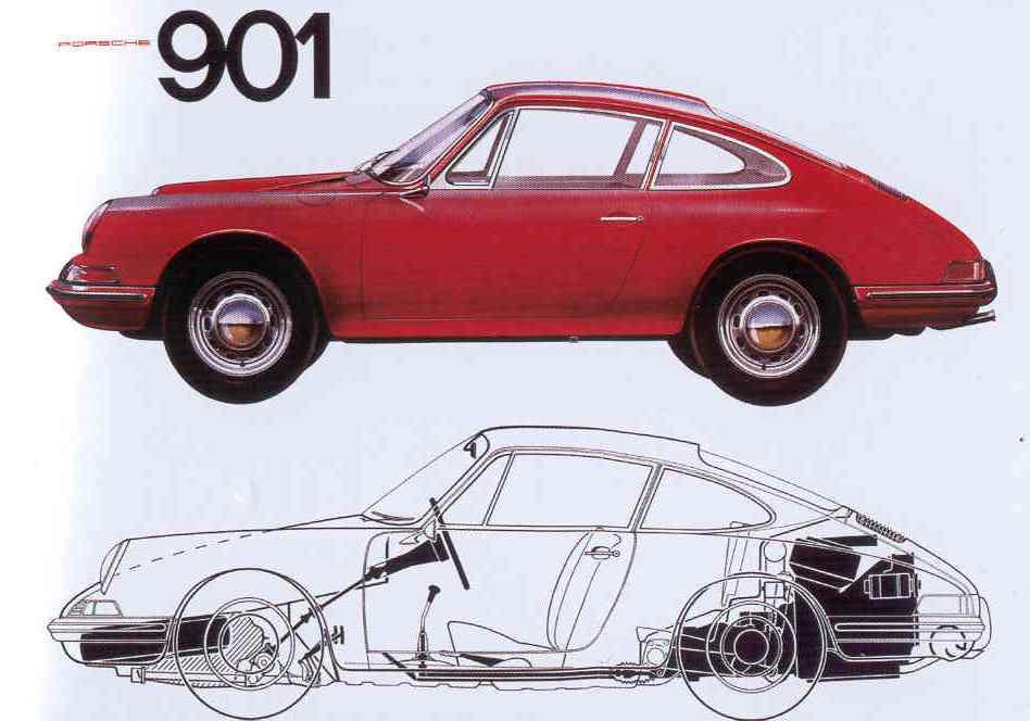 La Porsche 911 devait s'appeler la 901, mais Peugeot avait déjà réservé tous les numéros à trois chiffres avec un zéro au milieu