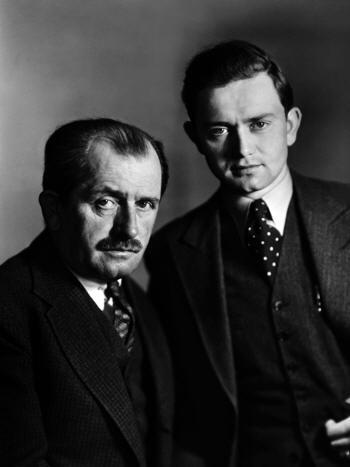 Ferdinand Porsche et son Fils Ferry