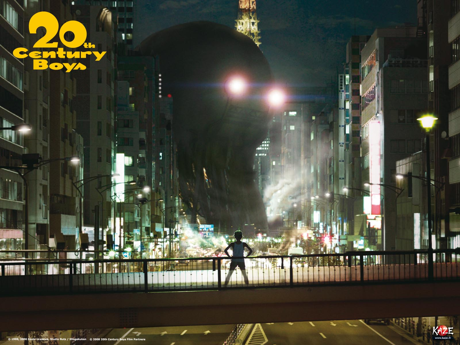 Wallpaper officiel du film 20th Century Boys