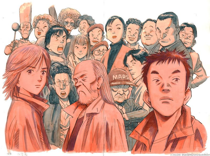 Ensemble des héros de 20th Century Boys