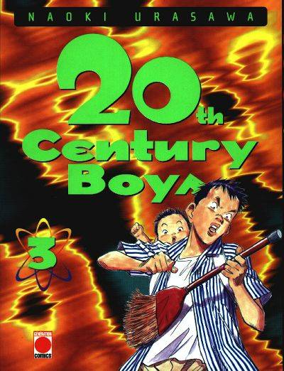 Couverture de la tome 3 de 20th Century Boys
