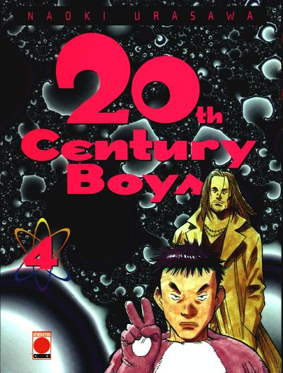 Couverture du tome 4 du manga 20th Century Boys