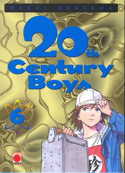 Couverture du tome 6 du manga 20th Century Boys