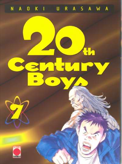Couverture du tome 7 du manga 20th Century Boys