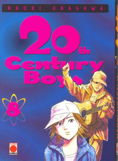 Couverture du tome 8 du manga 20th Century Boys