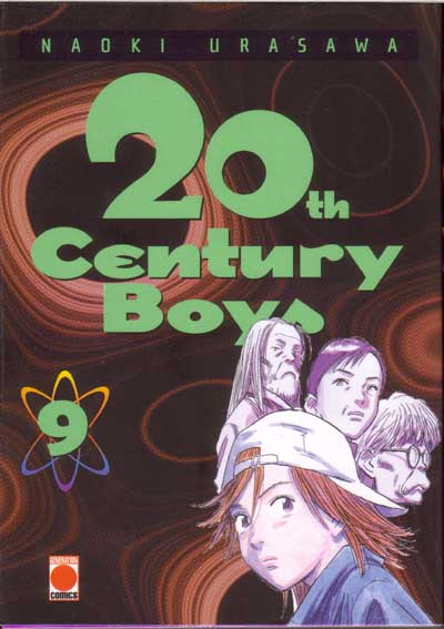Couverture du tome 9 du manga 20th Century Boys