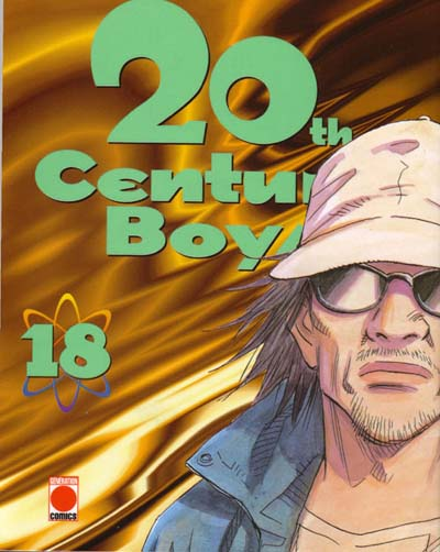 Couverture du tome 18 du manga 20th Century Boys