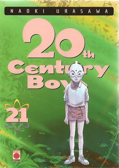 Couverture du tome 21 du manga 20th Century Boys