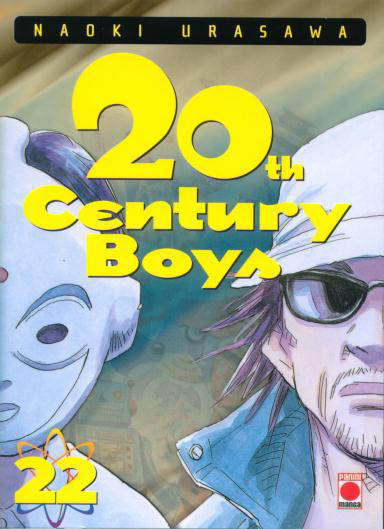 Couverture du tome 22 du manga 20th Century Boys