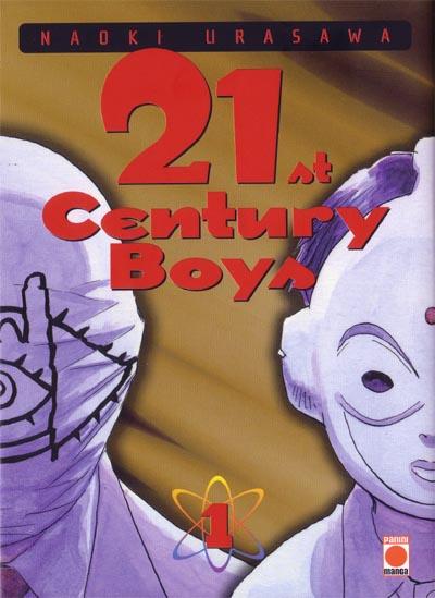 Couverture du tome 1 du manga 21st Century Boys