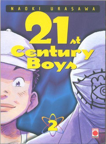 Couverture du tome 2 du manga 21st Century Boys