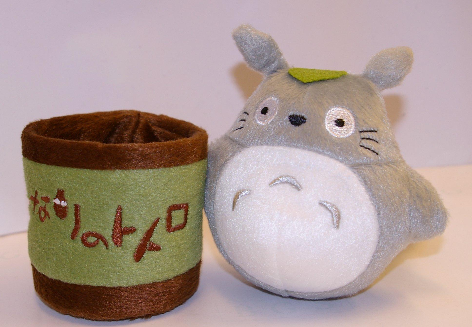 Face du porte Crayon Totoro