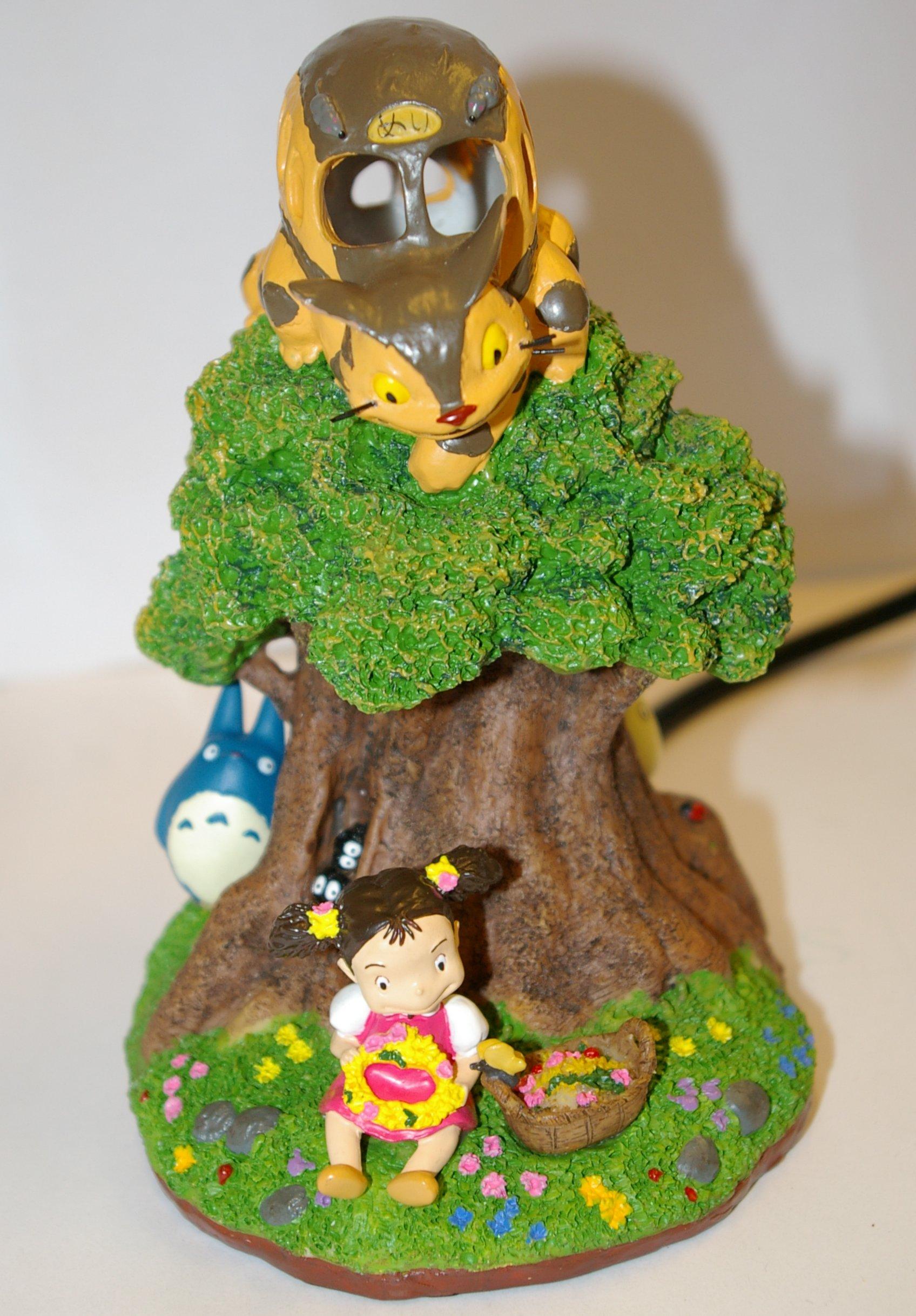 Face de la lampe de chevet Totoro