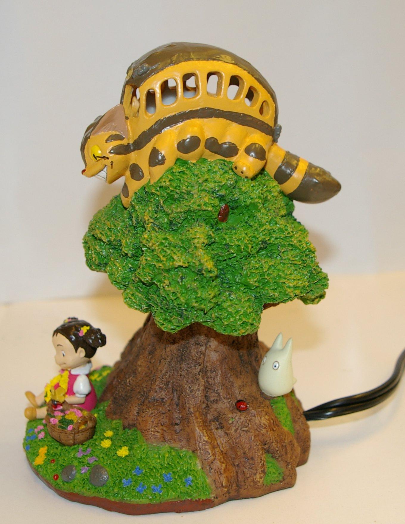 Droite de la lampe de chevet Totoro