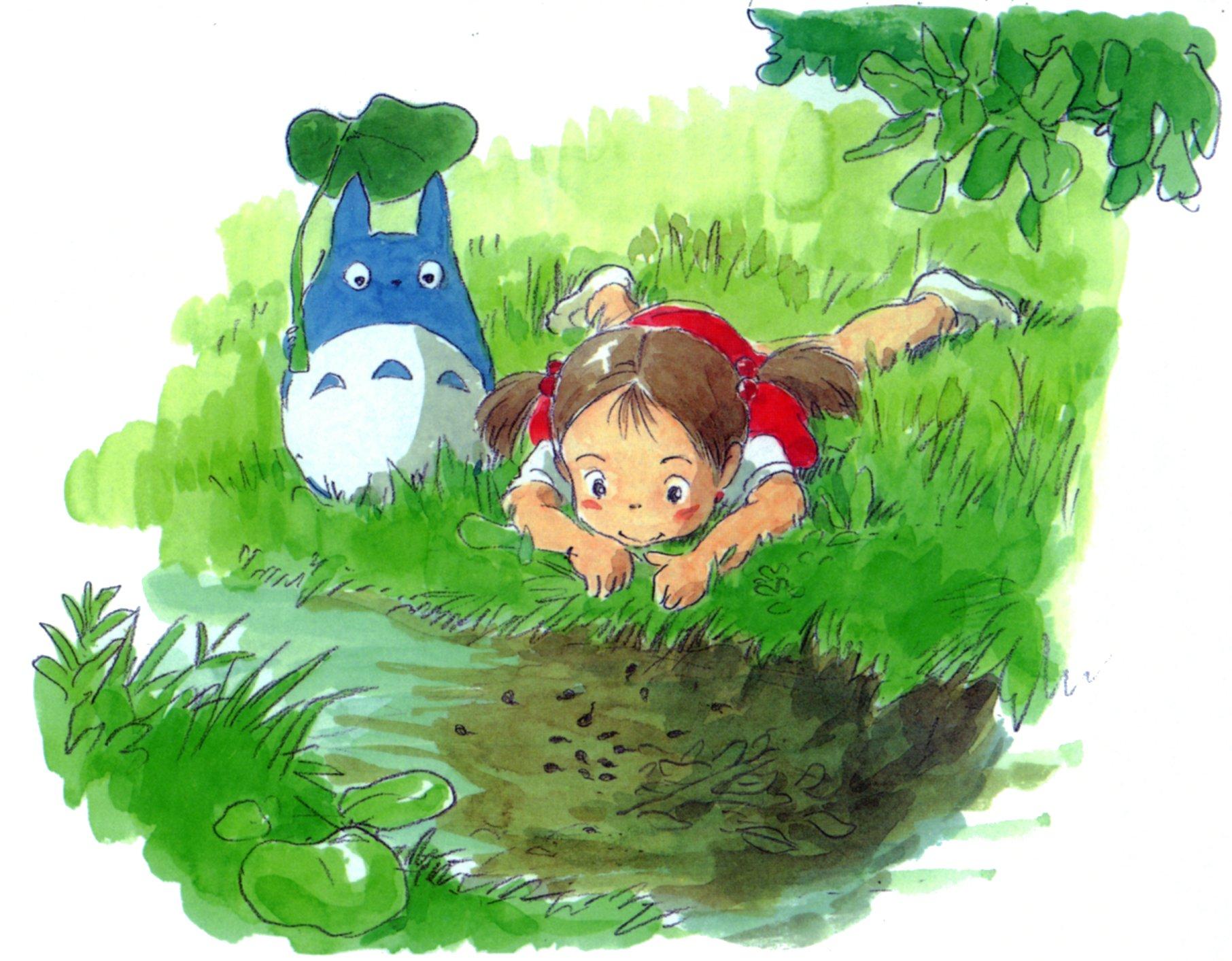 Image de préparation au film Totoro