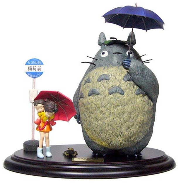 Bus Stop Totoro (face)