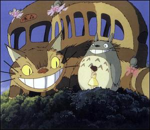 Totoro et le chat bus