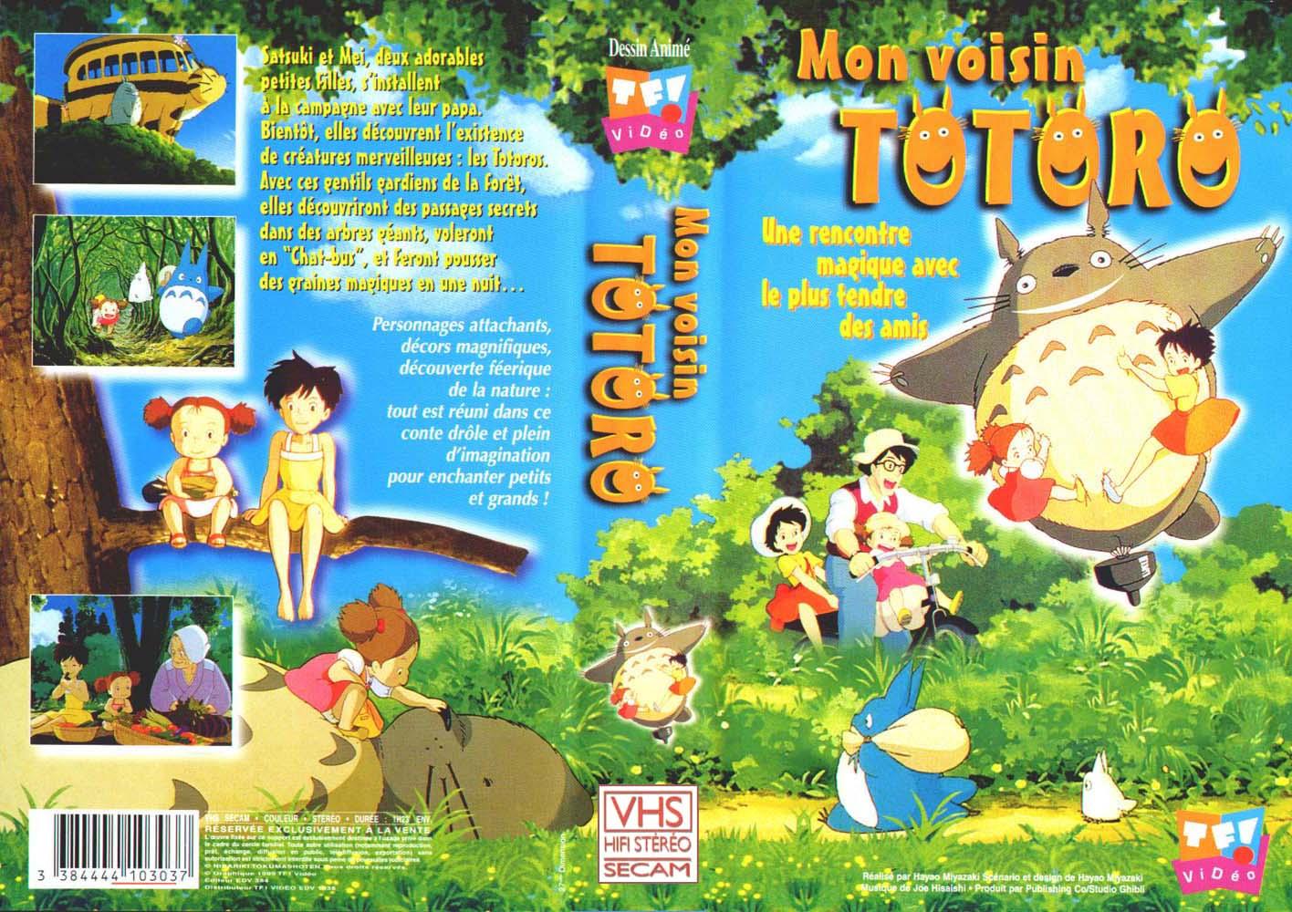 Mon voisin Totoro (couverture de la VHS)