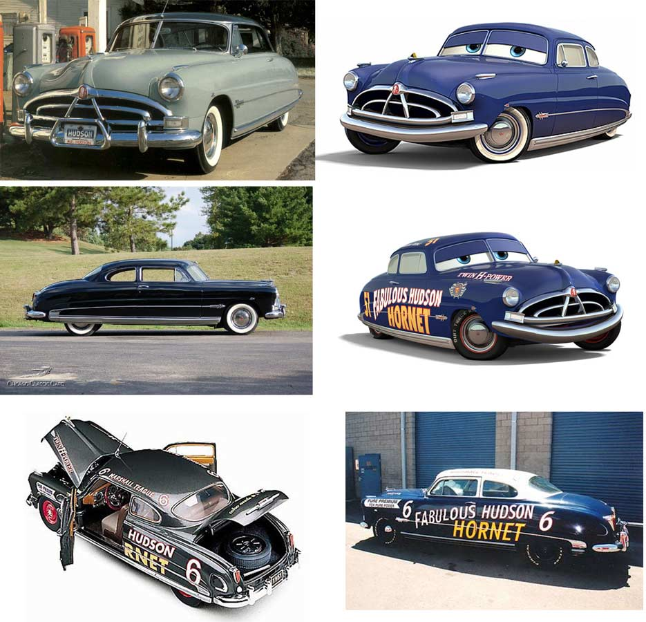 Doc Hudson : Hudson Hornet