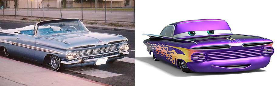 Ramone : Chevrolet Impala lowrider 1959