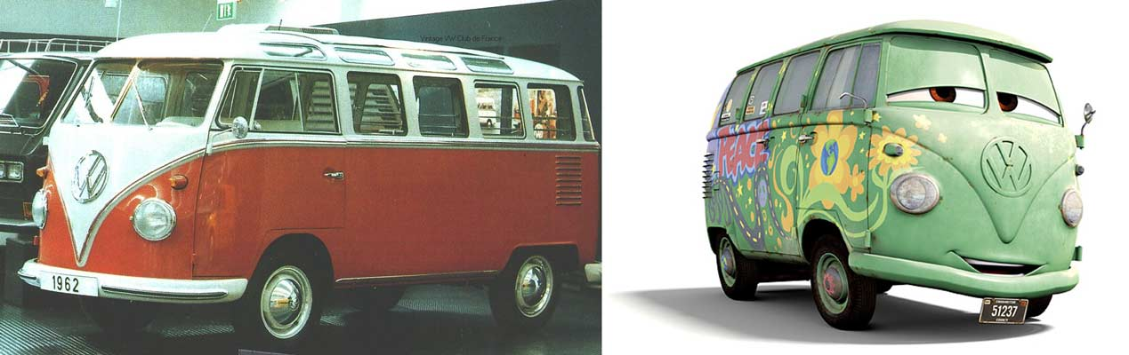 Fillmore : Volkswagen Combi de 1960