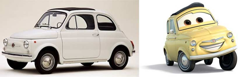 Luigi : Fiat 500 de 1959