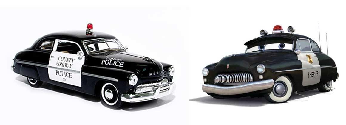 Shérif : Mercury Coupé Club de 1949