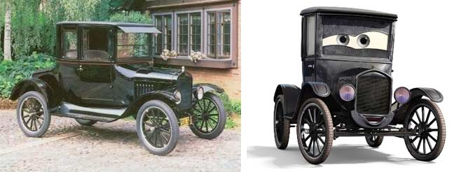 Lizzie : Ford modle T de 1923