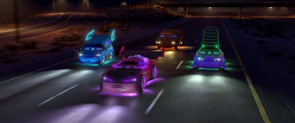 Cars : Quatre roues (2006) Tuning