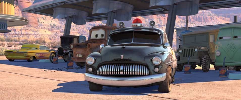 Cars : Quatre roues (2006) shériff