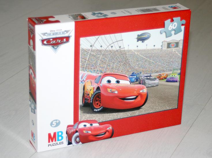 Puzzle MB de 60 pièces ( Cars - 2008)