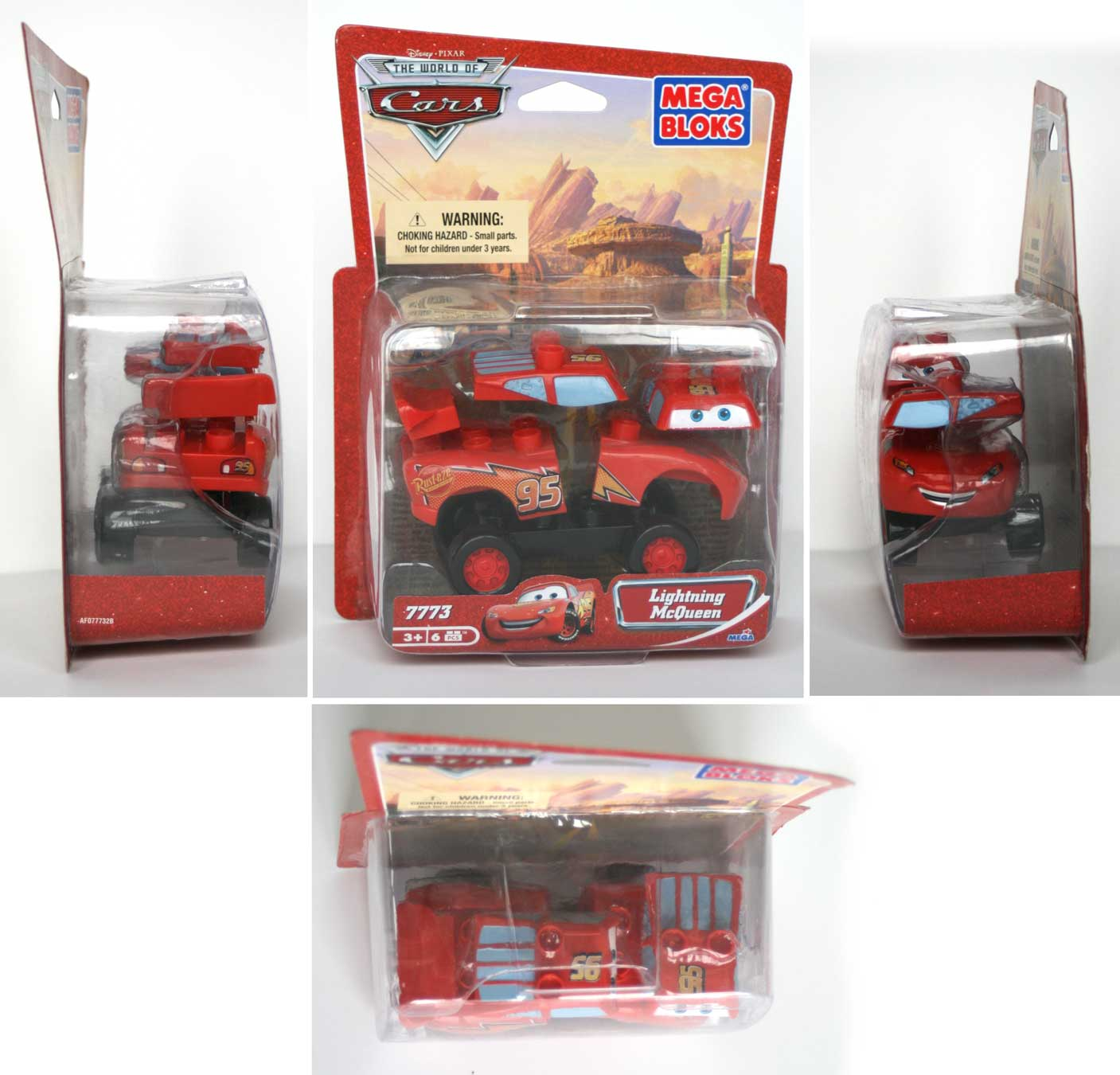 Packaging Flash McQueen (2007) Cars