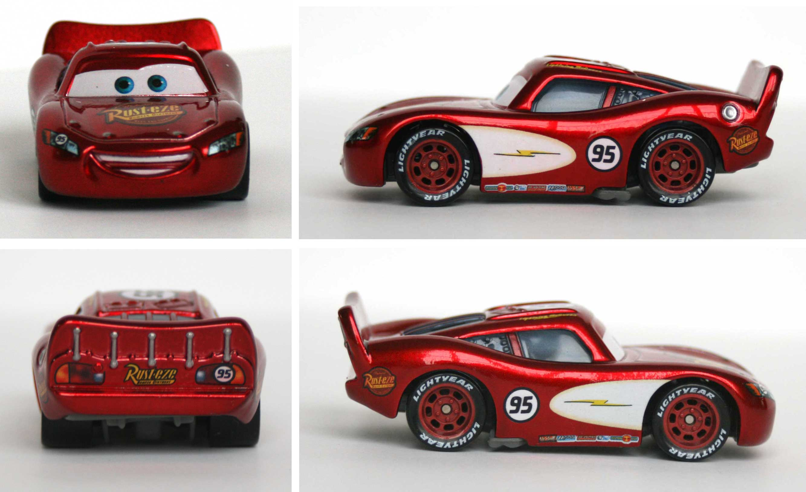 Mattel : The World of Car N°02 - Flash McQueen (2008)