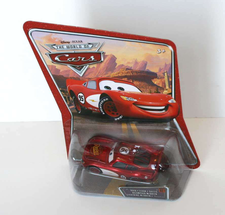 Packaging Mattel : The World of Car N°02 - Flash McQueen (2008)