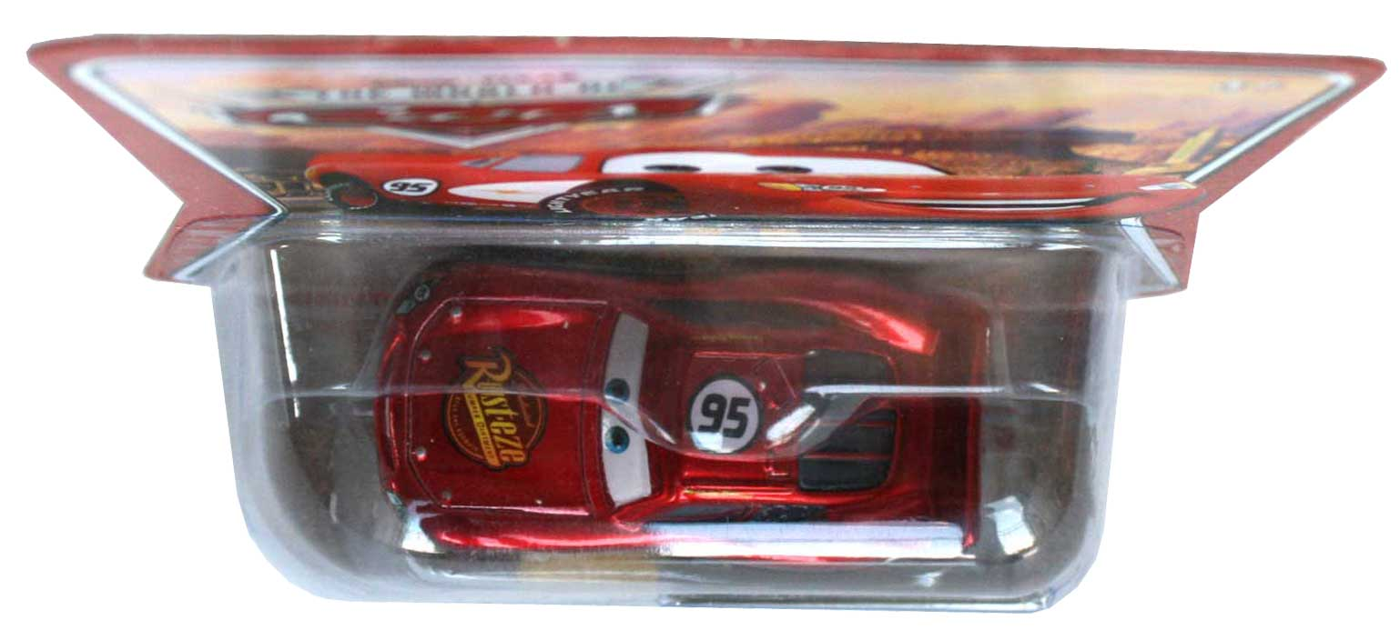 Packaging dessus Mattel : The World of Car N°02 - Flash McQueen (2008)
