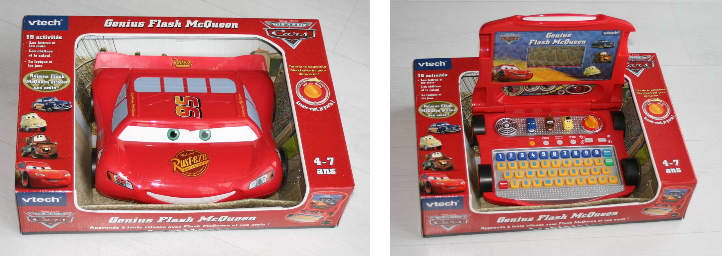 Packaging - Genius Flash McQueen (2008) Ordinateur Cars