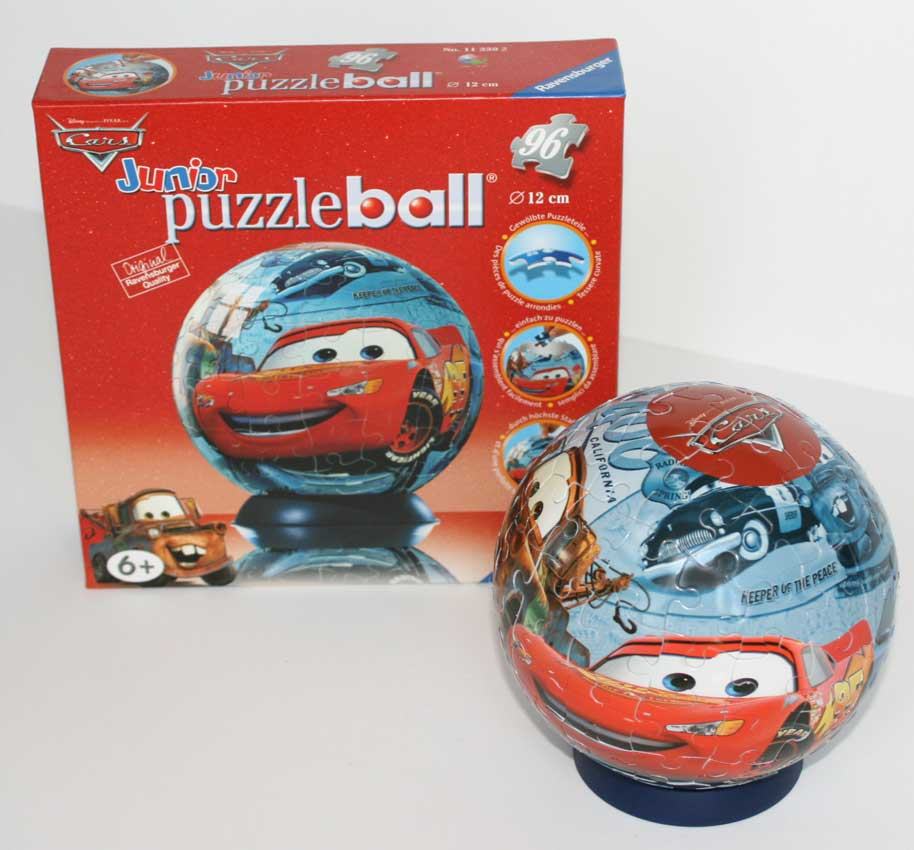 Puzzle Ball Ravensburger de 96 pices (Cars - 2005)