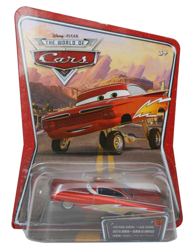 Packaging Mattel : The World of Car N°15 - Flash Ramone (2008)