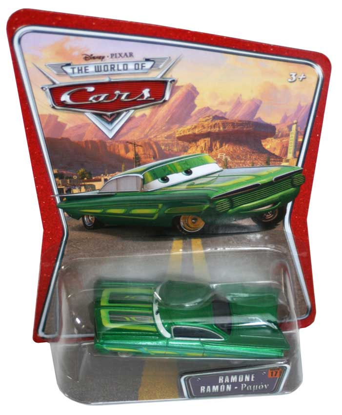 Mattel : The World of Car N°15 - Ramone vert (2008)