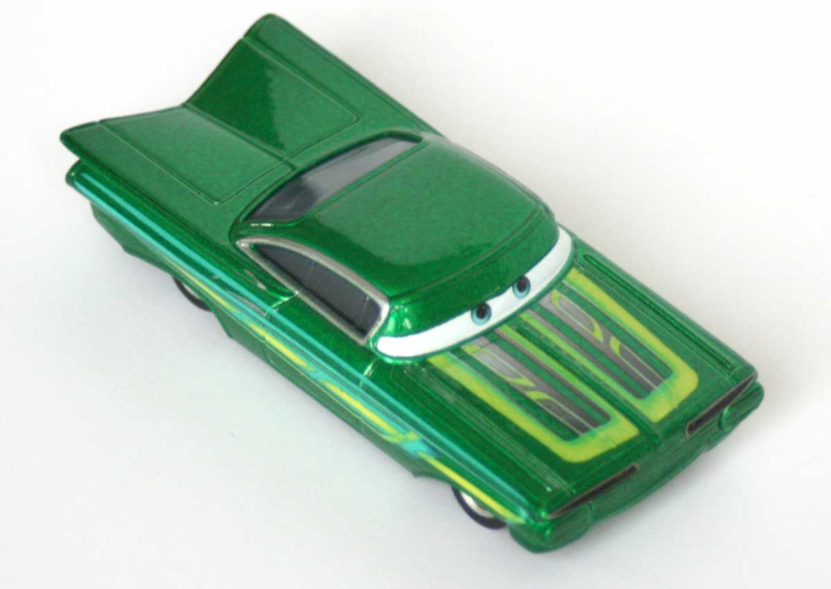 Mattel : The World of Car N°15 - Ramone vert (2002)