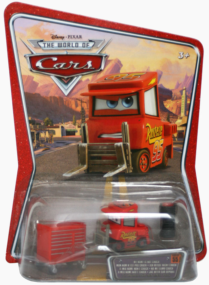 Mattel : The World of Car N°55 – Michel – Mon nom n'est pas Chuck (2008)