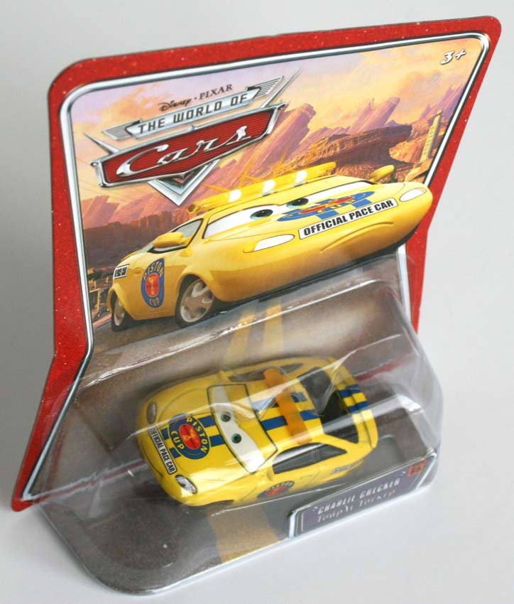 Mattel : The World of Car N°65 - Pace Car - Charlie Checker