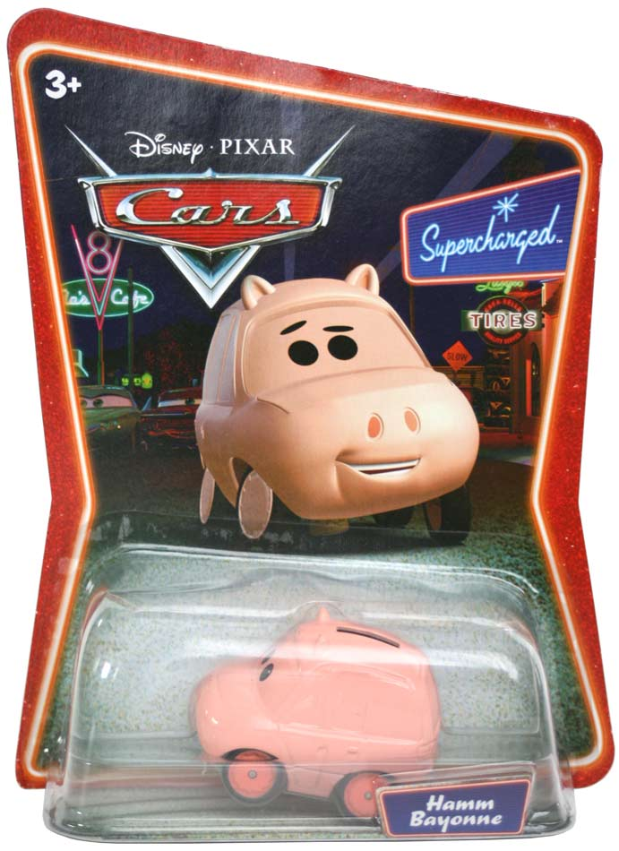 Collection mattel cars supercharged 2007 - Cochon de toy story ...