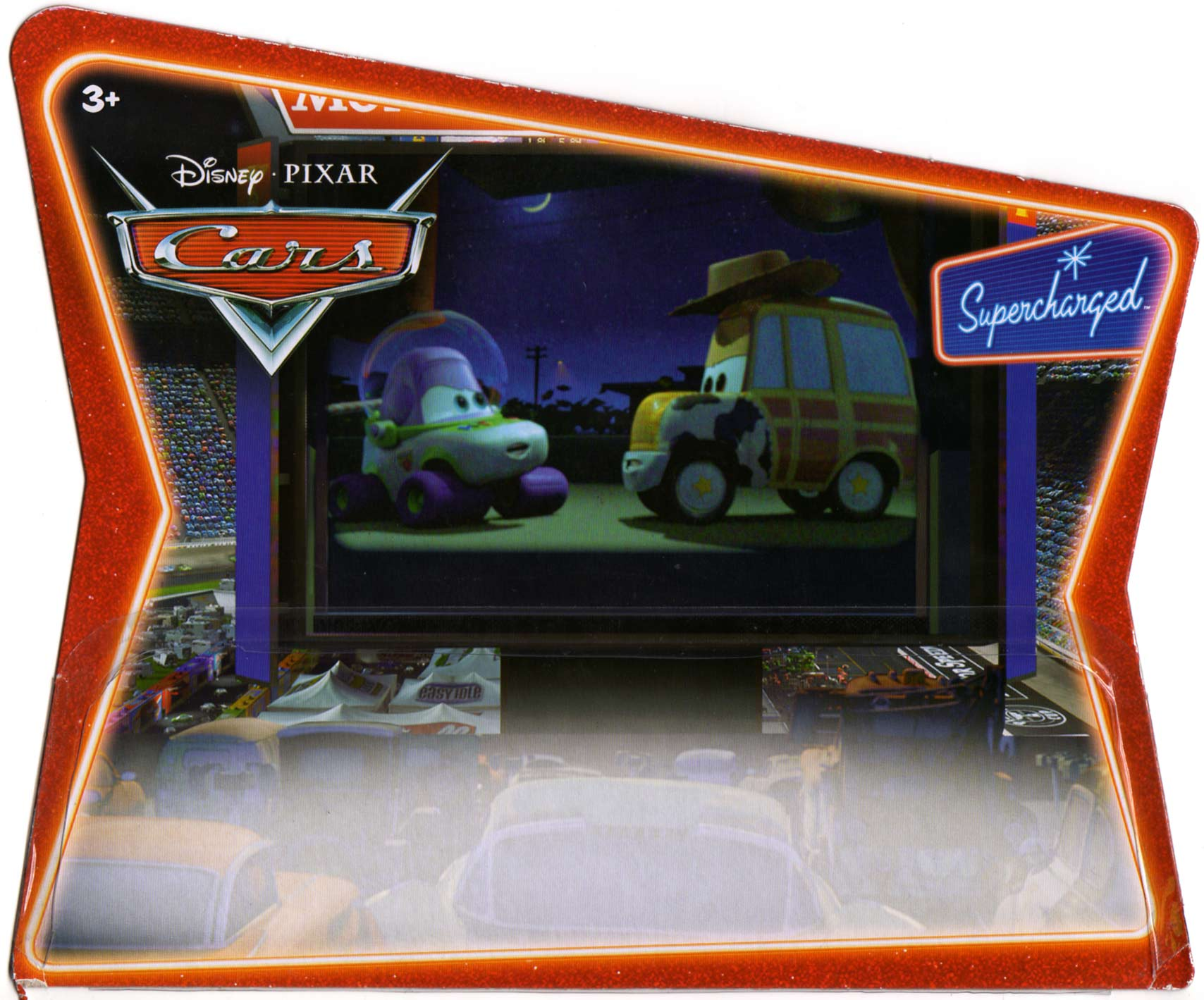 Mattel : Cars Supercharged - Buzz & Woody (2007) Packaging