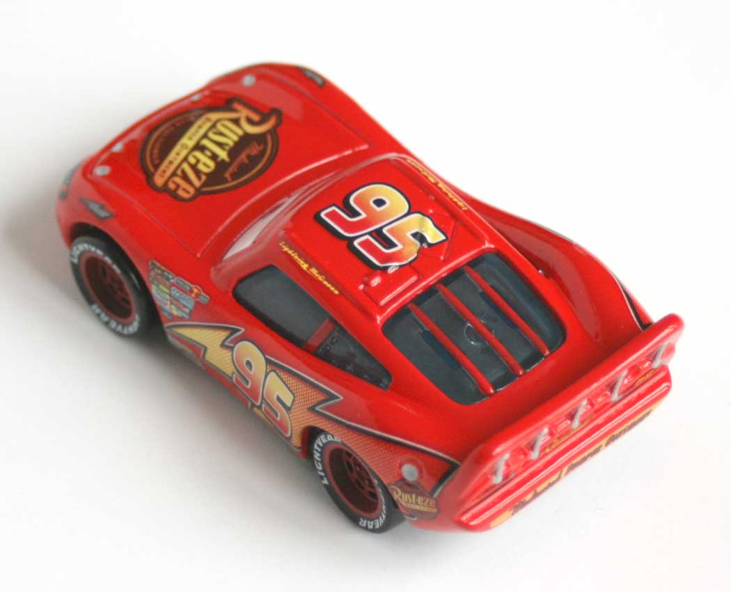 Mattel : Cars Supercharged - Flash McQueen (2007)